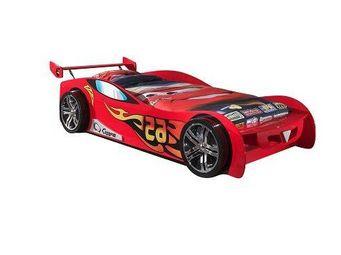 WHITE LABEL - lit voiture funbeds lemans design rouge - Lit Enfant