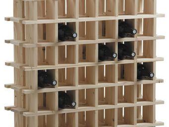 Aubry-Gaspard - casier � vin en bois 36 bouteilles - Range Bouteilles