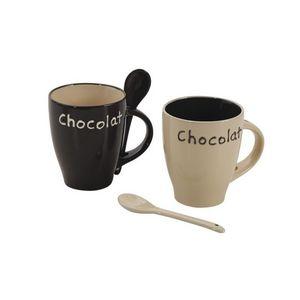 Aubry-Gaspard - lot de 2 mugs chocolat - Mug
