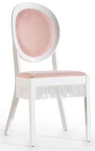 WHITE LABEL - chaise de bureau fille coloris rose clair - Chaise De Bureau