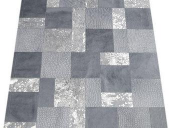 Tergus - tapis peau de vache ref.713 c4 - Tapis Contemporain