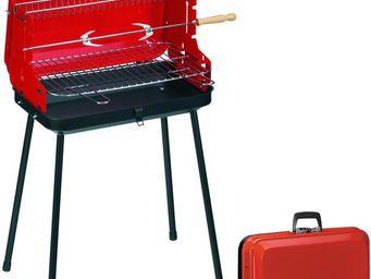Dalper - barbcue pliable avec poignée valisette - Barbecue Au Charbon