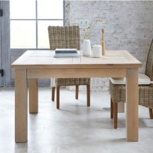 ARTI MEUBLES - table carrée toronto - Table De Repas Carrée
