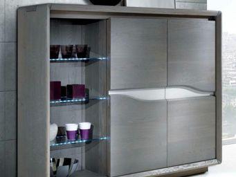 Ateliers De Langres - meuble d'appui ceram - Buffet Haut