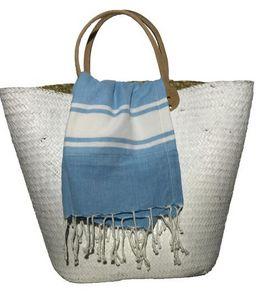 SHOW-ROOM - ocean blue - Serviette De Hammam Fouta