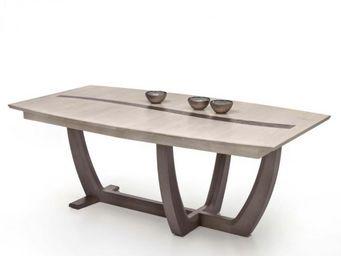 Ateliers De Langres - table tonneau oceane - Table De Repas Rectangulaire