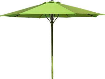 PROLOISIRS - parasol automatique spring 300cm anis - Parasol