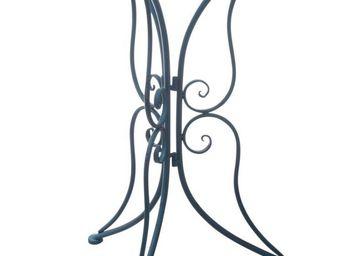Aubry-Gaspard - table de jardin en m�tal - Table De Jardin Ronde