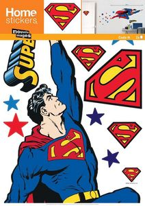 Nouvelles Images - sticker mural superman - Sticker Décor Adhésif Enfant