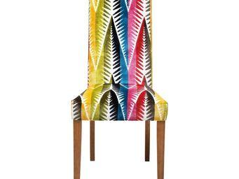 Kare Design - chaise econo slim palm leaf - Chaise