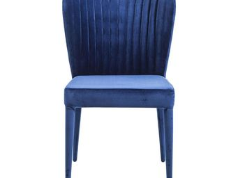 Kare Design - chaise cosmos bleue - Chaise