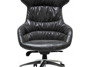 Kare Design - fauteuil de bureau bossy crinkly - Fauteuil De Bureau