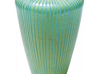 Kare Design - vase melone bleu 23 cm - Vase Décoratif