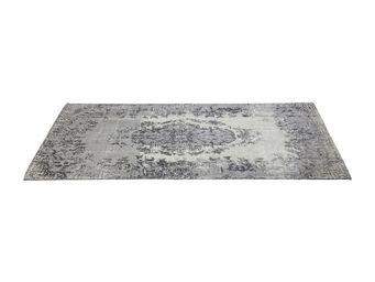 Kare Design - tapis kelim pop gris 300x200 - Tapis Contemporain
