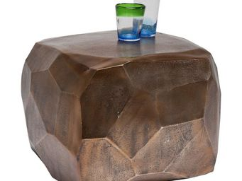 Kare Design - table basse diamond cuivre 56x56 cm - Table Basse Carrée