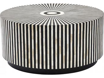 Kare Design - table basse ronde electra 75 cm - Table Basse Ronde