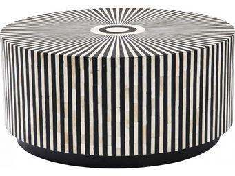 Kare Design - table basse ronde electra 75 cm - Table Basse Ronde