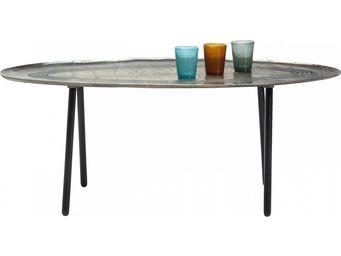 Kare Design - table basse ovale el camino - Table Basse Forme Originale