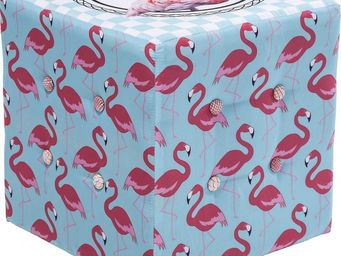 Kare Design - pouf florida flamingo - Pouf