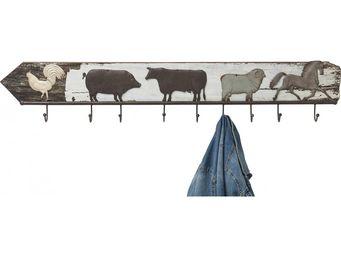 Kare Design - portemanteau little farm - Patère