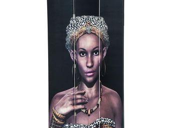 Kare Design - paravent african queen - Paravent