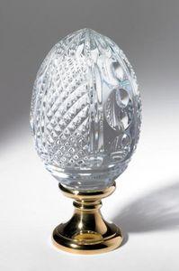 Cristal Decors - oeuf - Boule D'escalier