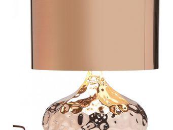 Kare Design - lampe de table rumble cuivre 38 cm - Lampe À Poser