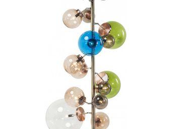 Kare Design - lampadaire balloon colore - Lampadaire