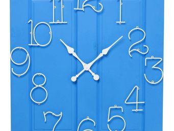 Kare Design - horloge murale frame santorini - Horloge Murale