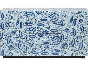 Kare Design - buffet la flor 2 portes 4 tiroirs - Buffet Bas