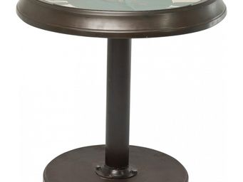 Kare Design - table d appoint station clock 60 cm - Table D'appoint