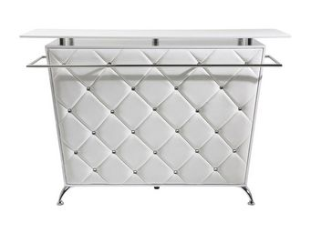 Kare Design - bar lady rock deluxe blanc - Meuble Bar