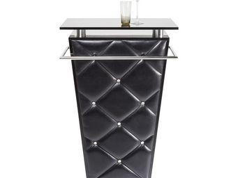 Kare Design - bar lady rock trolley noir - Meuble Bar