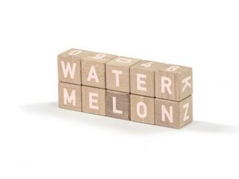 MAISON DEUX - alphabetic woodies white - Cubes
