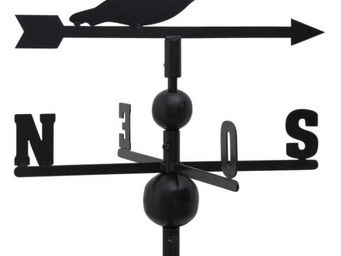 Aubry-Gaspard - girouette en fer forgé oies sauvages 105x47x47cm - Girouette