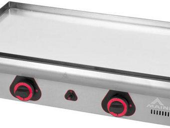 Mainho - plancha en chrome dur et acier inoxydable 75 cm - Plancha