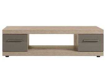 WHITE LABEL - table basse - dris - l 140 x l 70 x h 38 - bois - Table Basse Rectangulaire