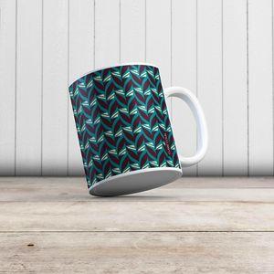 la Magie dans l'Image - mug abstrait fifties céladon - Mug