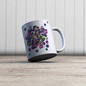 la Magie dans l'Image - mug fraises - Mug