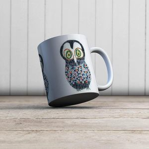 la Magie dans l'Image - mug hibou - Mug