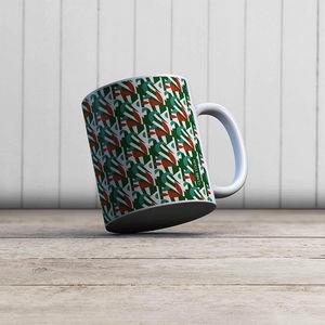 la Magie dans l'Image - mug pétales émeraude - Mug