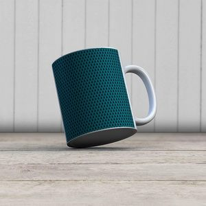 la Magie dans l'Image - mug uni chouette bleu - Mug