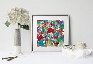 la Magie dans l'Image - print art fleurs - Tableau Décoratif