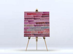 la Magie dans l'Image - toile triangles - Impression Numérique Sur Toile