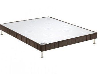 Bultex - bultex sommier tapissier confort ferme vison 120* - Sommier Fixe À Ressorts