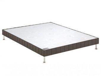 Bultex - bultex sommier tapissier confort ferme enduit tau - Sommier Fixe À Ressorts