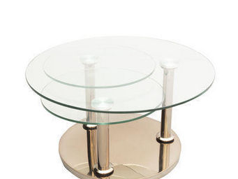 EDA  Concept - rose - Table Basse Ronde