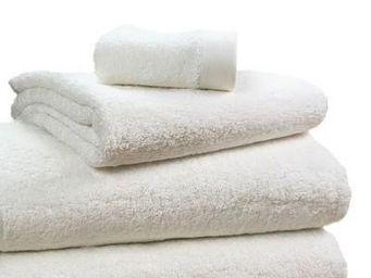 Liou - serviette de bain ivoire - Serviette De Toilette