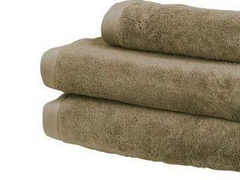 Liou - serviettes de toilette marron glacé - Serviette De Toilette
