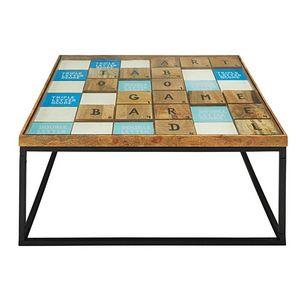 Maisons du monde - scrabbl - Table Basse Carrée